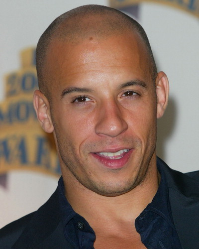 Vin Diesel, top 10 calvos famosos y sexys, el blog del single