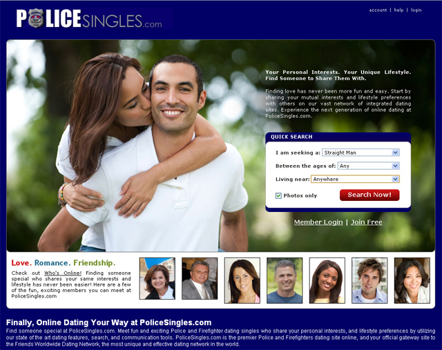 Online dating sites for cops