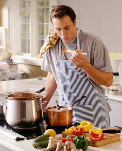 Cocina fácil y rápida para solteros