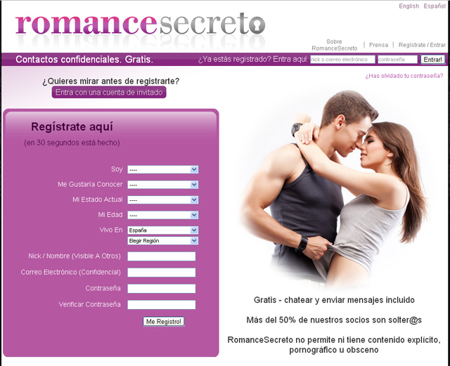 Romance Secreto, casadas infieles, el blog del single