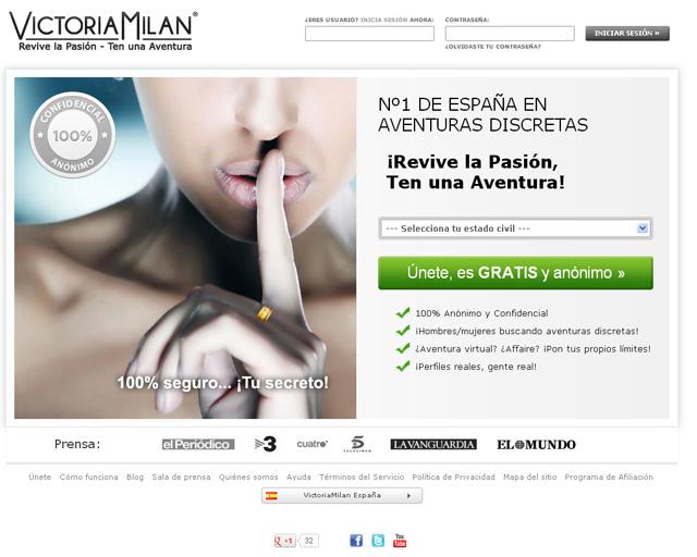 victoria milan, casadas infieles, el blog del single
