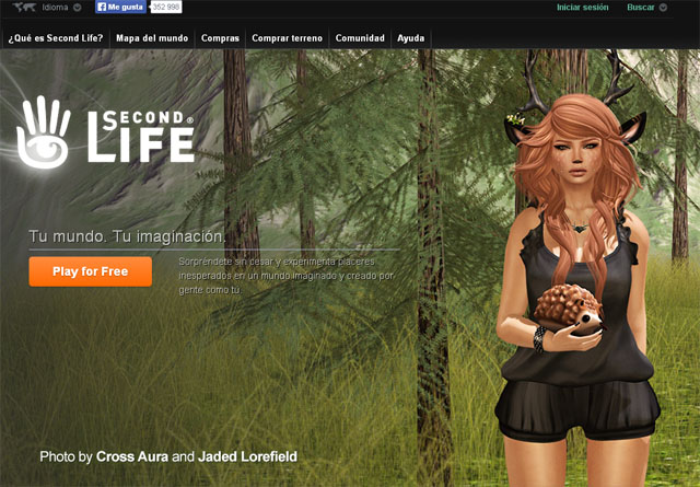 Second Life, chat virtual, Single Life