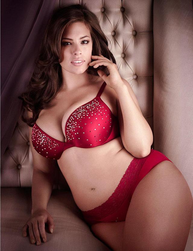 Ashley Graham, Las diez modelos de talla grande más sexys de 2014