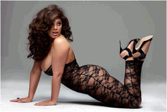 Candice Huffine, Las diez modelos de talla grande más sexys de 2014