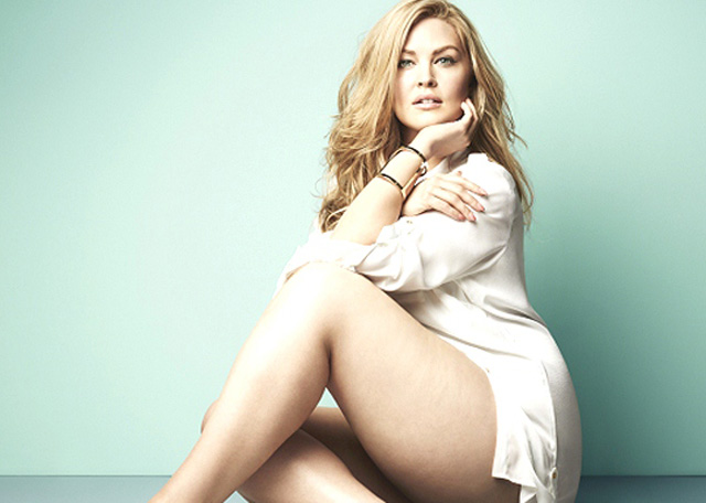 Justine Legault, Las diez modelos de talla grande más sexys de 2014