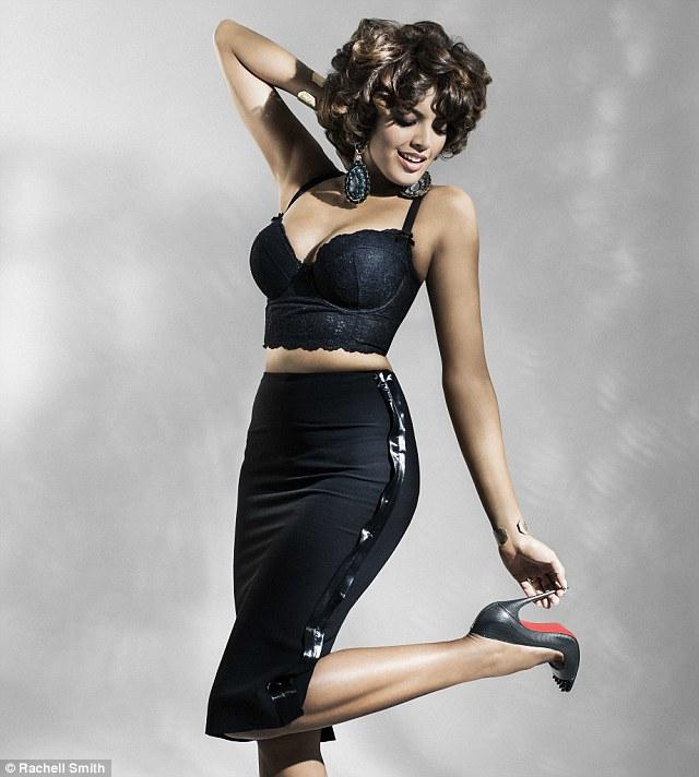 Saffi Karina, Las diez modelos de talla grande más sexys de 2014