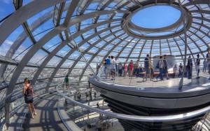 Miradores Cupula del Reichstag Berlin, viajes y vacaciones singles