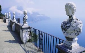 Miradores villa cimbrone italia, viajes y vacaciones singles
