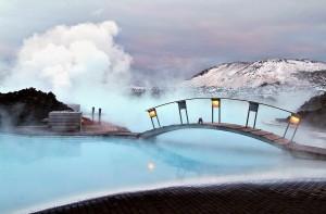 Piscinas impresionantes Blue Lagoon Geothermal Resort Grindavík Islandia