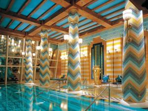Piscinas impresionantes Hotel Burj Al Arab Dubai
