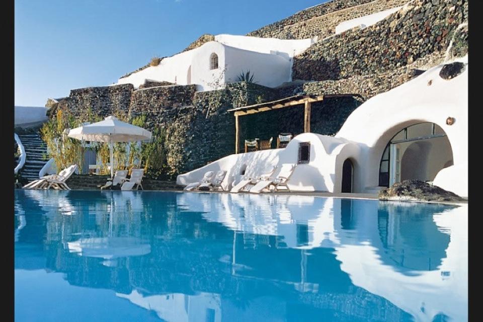 Piscinas impresionantes Hotel Perivolas 2
