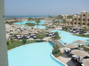 Piscinas impresionantes Tia Heights Makadi Bay Egipto