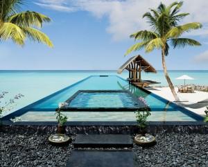 Piscinas impresionantes One&Only Reethi Rah Resort Maldivas