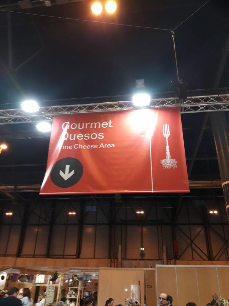 Zona Quesos Gourmet, 33 Salón del Gourmet 2019 blog del soltero