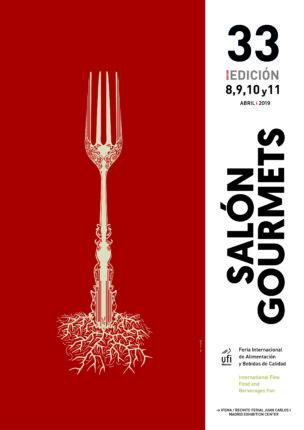 Cartel 33 Salón Gourmets 2019, blog del soltero