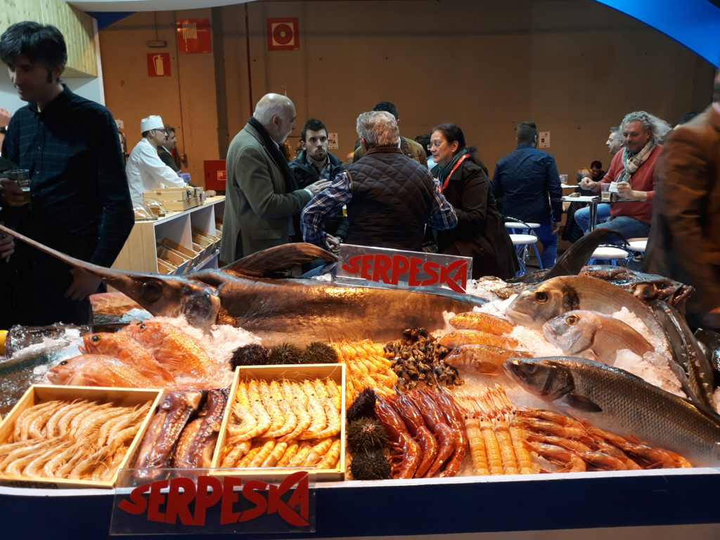 Stand de Serpesca, 33 Salón de Gourmets 2019 Blog del soltero