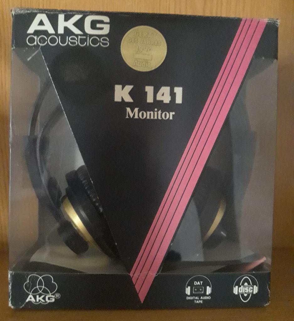 AKG K141 Monitor BNIB nuevos en caja