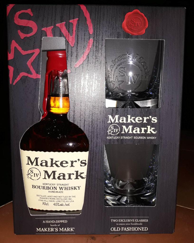 Makers Mark estuche dos vasos