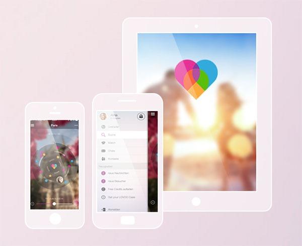 Web y app de contactos Lovoo
